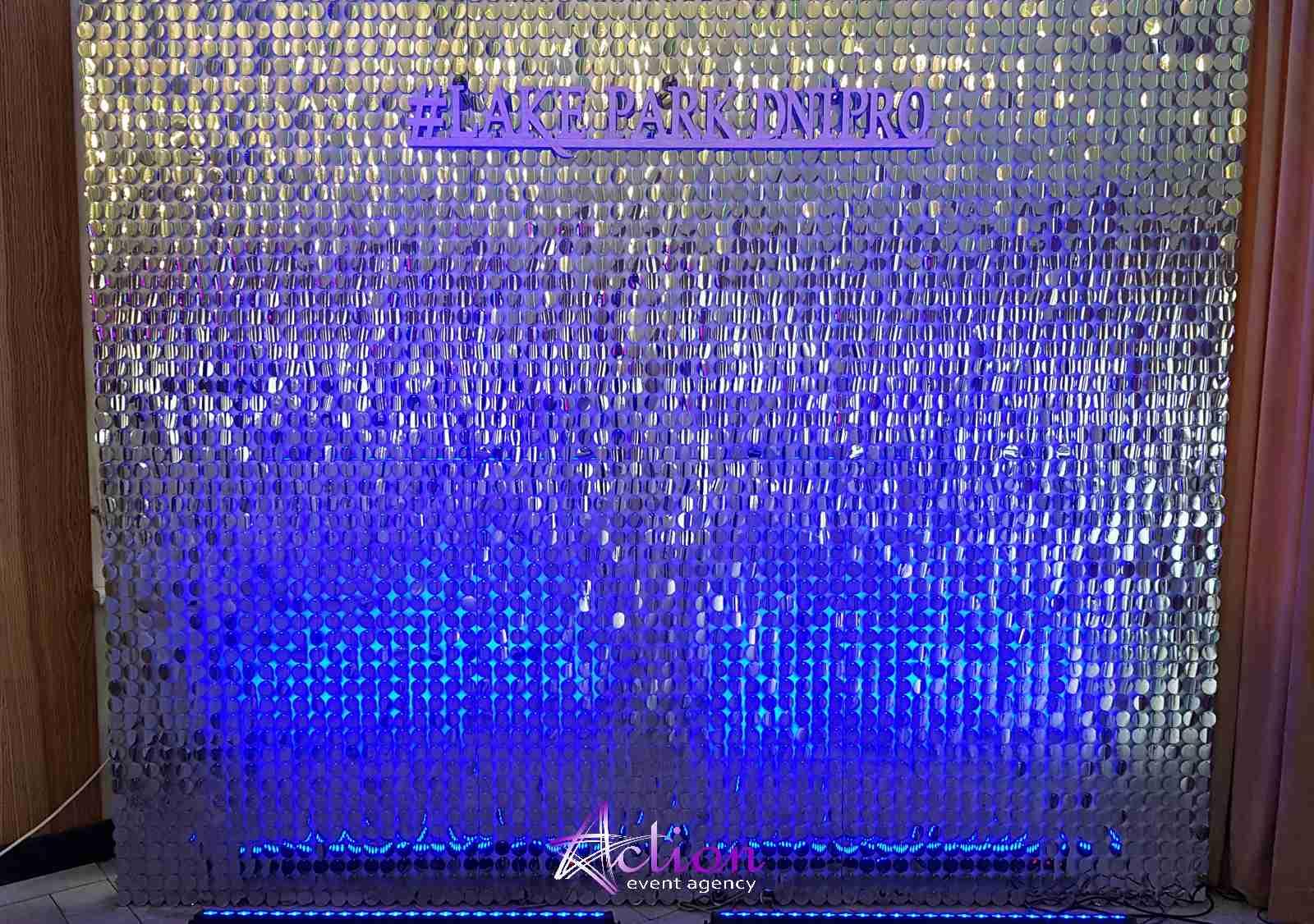 фотозона Днепр, Аренда фотозоны цены, пайеточная фотозона, живая фотозона Днепр action event agency экшен организатор мероприятий, пайтки